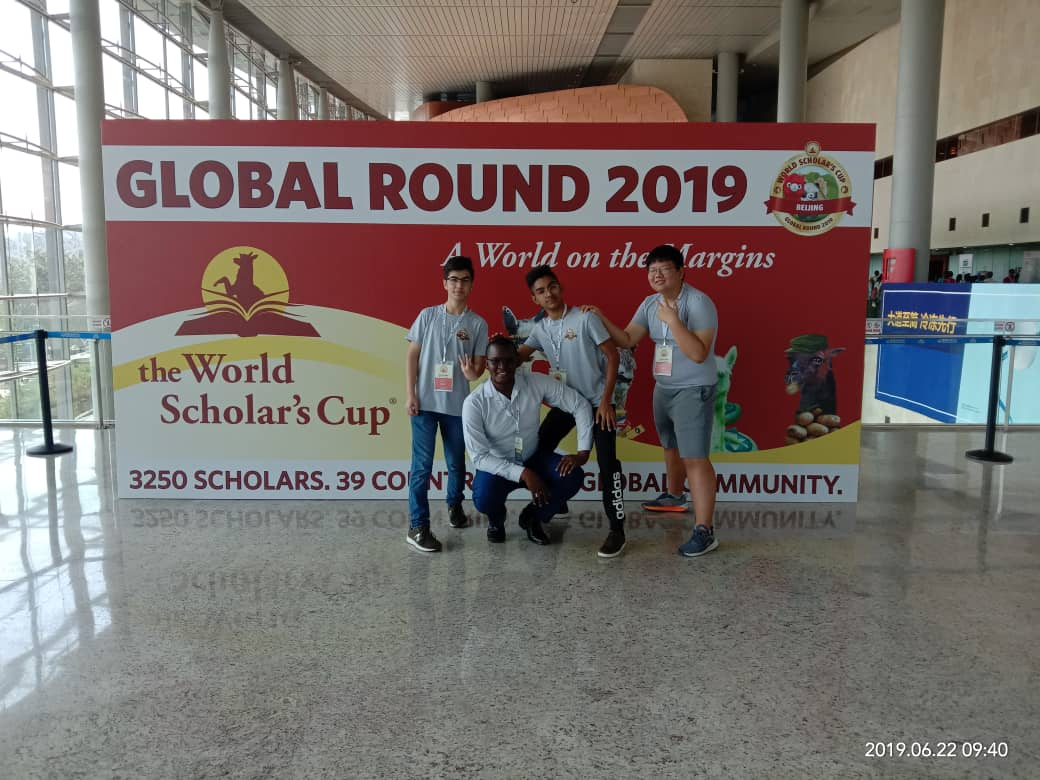 NIS Students winning medals in the World Scholar_s Cup Competition Beijing Global Round 2019!